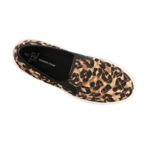 Women's Leopard Print Twin Gore Slip On 8.5 NWT